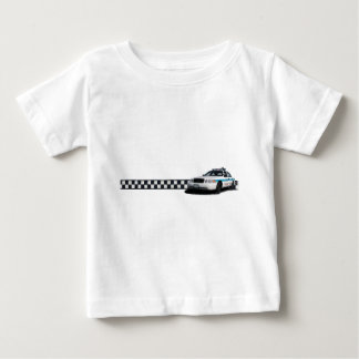 Camisetas del niño de Checkerband del pelotón