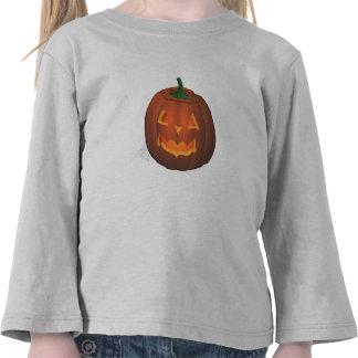 Camisetas del niño de la calabaza de la camiseta