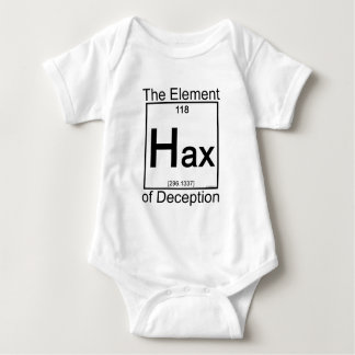 Camisetas del niño del elemento HAX