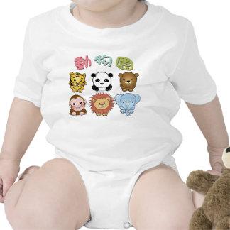Camisetas del niño del parque zoológico