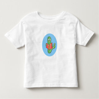 Camisetas del niño del ratón de biblioteca