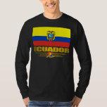 """""""Camisetas del orgullo de Ecuador"""" Playeras"""