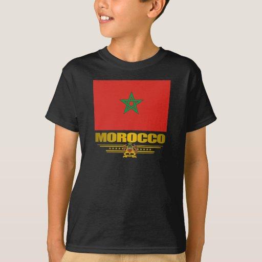 """Camisetas del """"orgullo marroquí"""" playeras"""