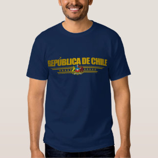 """""""Camisetas del oro de Chile"""" Remeras"""