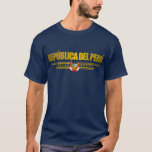 """""""Camisetas del oro de Perú"""" Playera"""