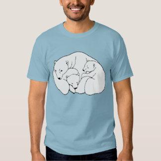 Camisetas del oso del bebé del tamaño extra grande camisas