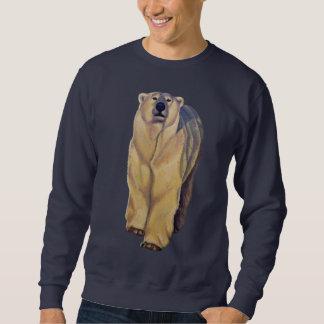 Camisetas del oso polar del camisetas del arte del suéter