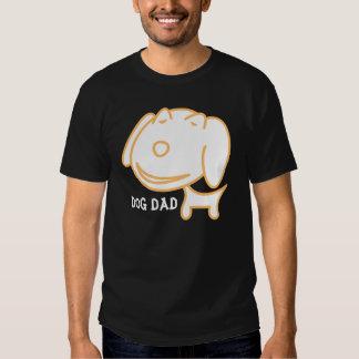 Camisetas del papá del perro, divertidas playera