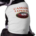 Camisetas del perrito camisa de mascota