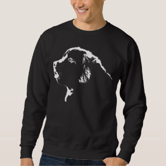 Camisetas del perro de Terranova de la camiseta de Suéter