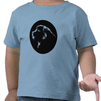 Camisetas del perro del niño de la camiseta del pe
