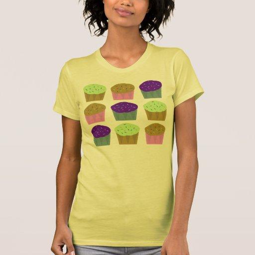 Camisetas del personalizable de las magdalenas playera
