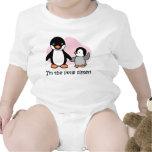Camisetas del pingüino de la pequeña hermana