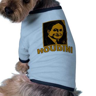 Camisetas del poster de Harry Houdini, tazas, rega Camisetas De Perro