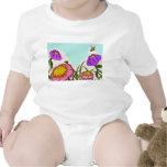 Camisetas del prado de la flor