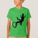 Camisetas del reptil del niño de las camisetas del