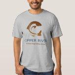 Camisetas del río Copper Playeras