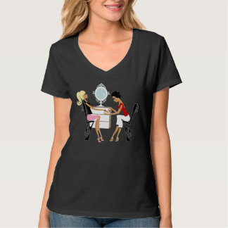 Camisetas del salón de pelo poleras