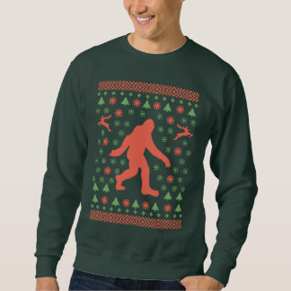 Camisetas del suéter del día de fiesta de Bigfoot