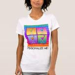 Camisetas del tanque - martinis del arte pop