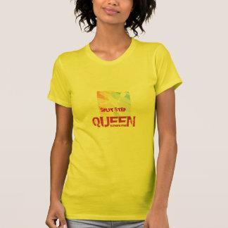 Camisetas del tenis para las mujeres con decir