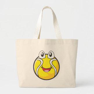 Camisetas del tenis - pelota de tenis sonriente fe bolsa de mano