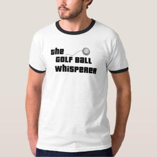 Camisetas del Whisperer de la pelota de golf Playera