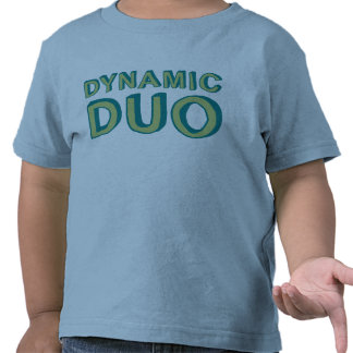 Camisetas dinámicas del dúo