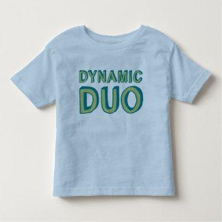 Camisetas dinámicas del dúo playeras
