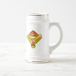 Camisetas divertidas de los niños y regalo jarra de cerveza