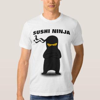 Camisetas divertidas de NINJA del SUSHI Camisas