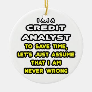 Camisetas divertidas del analista de crédito ornamentos de reyes