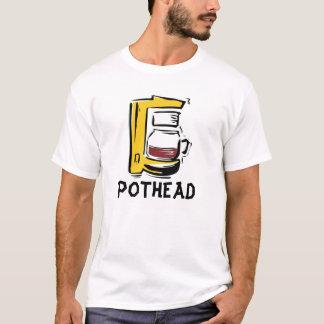 Camisetas divertidas del café, Pothead