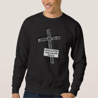 Camisetas divertidas del cristiano de la sudaderas encapuchadas