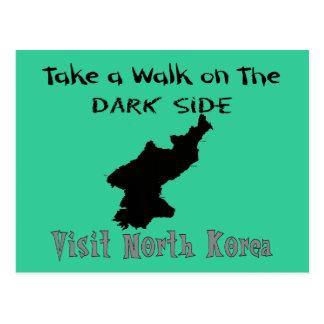 Camisetas divertidas y regalos de Corea del Norte Postal