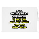 Camisetas divertidas y regalos del ingeniero indus tarjetas