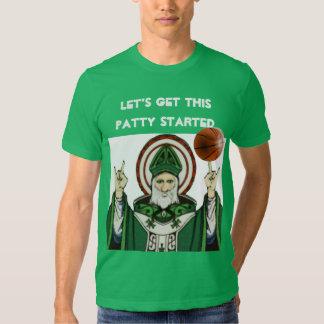 camisetas divertido del día de los patricks del st camisas
