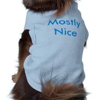 Camisetas divertido para los perros playera sin mangas para perro