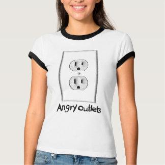Camisetas enojadas del mercado