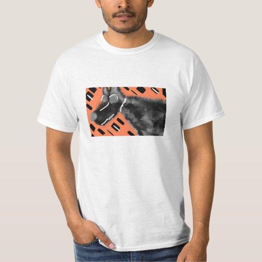 Camisetas ENRROLLADAS del camisetas de las KARMAS Playera