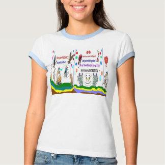 Camisetas especial de las señoras del embarazo playeras