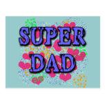 Camisetas estupendas del papá, sudaderas con postal