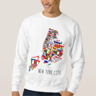 Camisetas étnicas de las vecindades de New York Sudaderas Encapuchadas