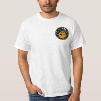 Camisetas extranjero de la Jack-O-Linterna 2-Sided Poleras
