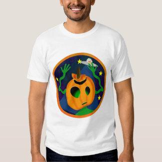 Camisetas extranjero de la Jack-O-Linterna Camisas