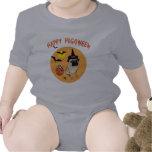 Camisetas felices de Pugoween para los niños y los