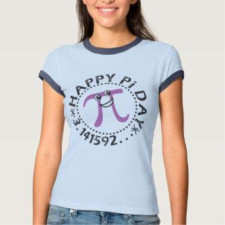 Camisetas felices lindas del día del pi - regalo playeras