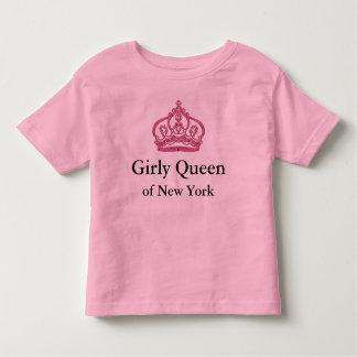 Camisetas femeninas de la reina playeras
