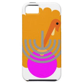 """Camisetas festivas K.png de """"Thanksgivukkah"""" iPhone 5 Carcasas"""