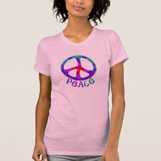 Camisetas florido de la paz